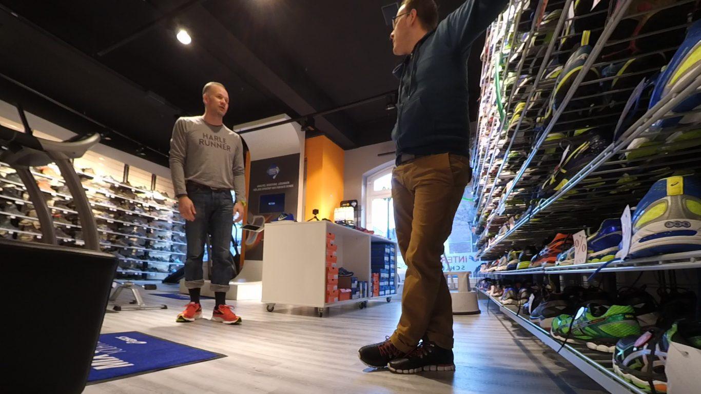Laufschuh-Beratung - Brooks Launch 3