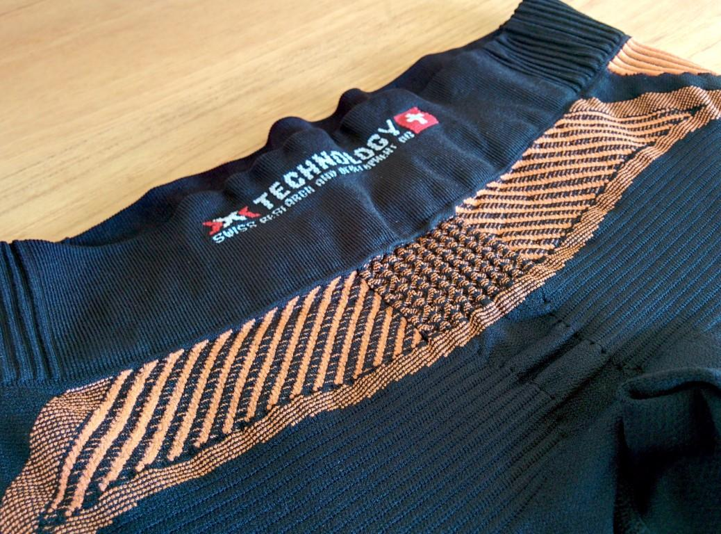 X-Bionic The Trick Running Pants - Bund hinten