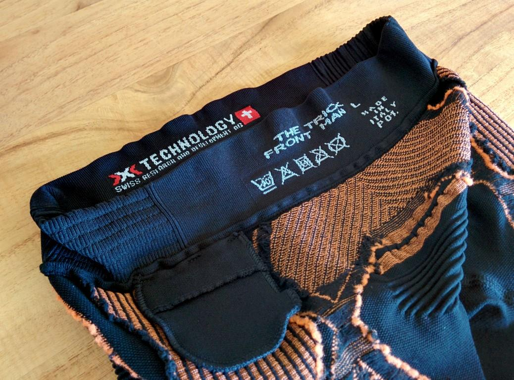 X-Bionic The Trick Running Pants - Innentasche