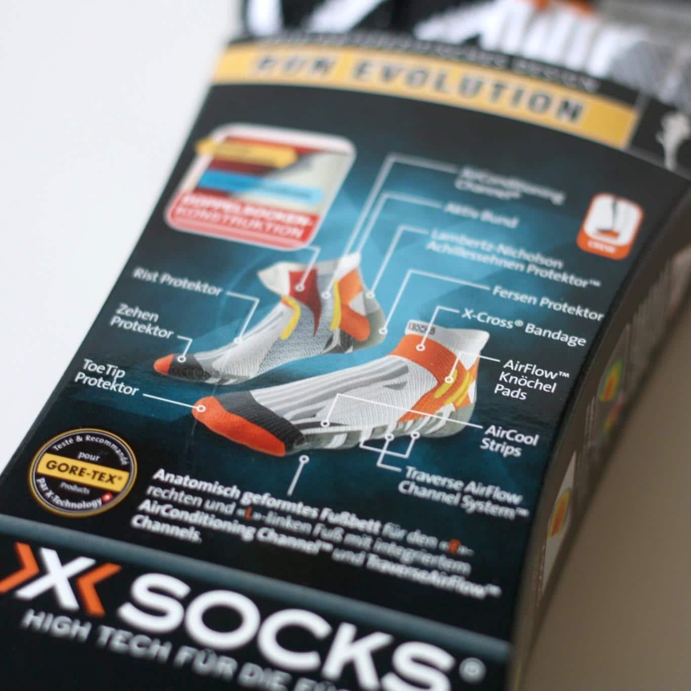 X-Socks Run Evolution