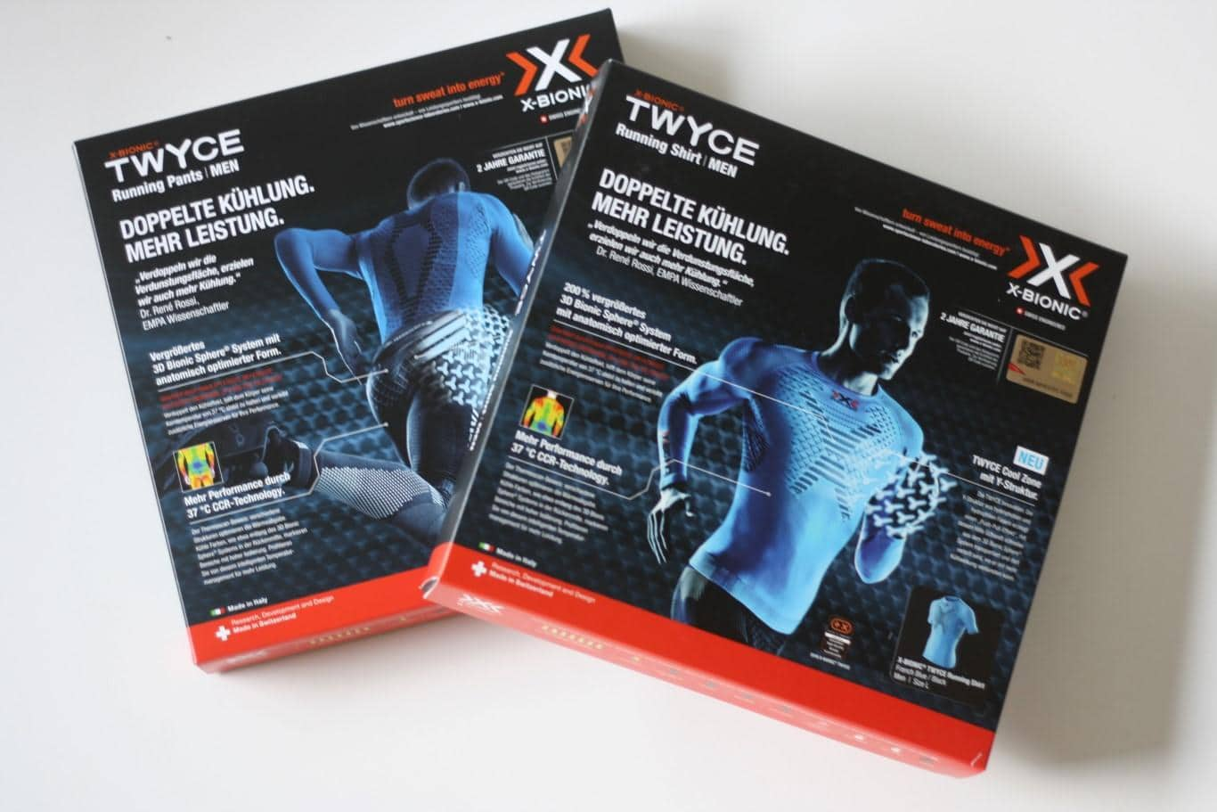 X-Bionic Twyce Running Shirt und Pants