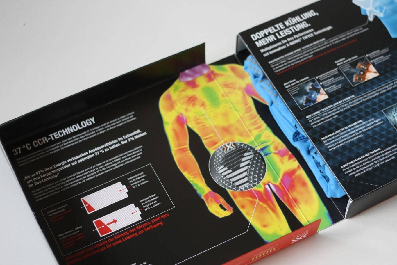 Twyce Running Shirt hochwertig verpackt
