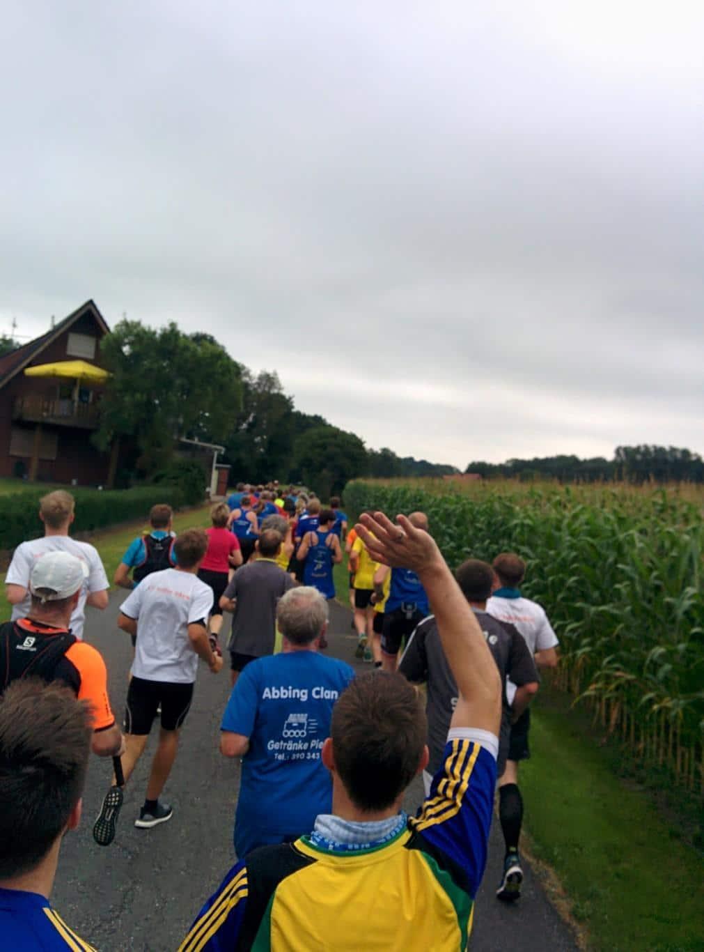Münsterland Sternlauf - Strecke West