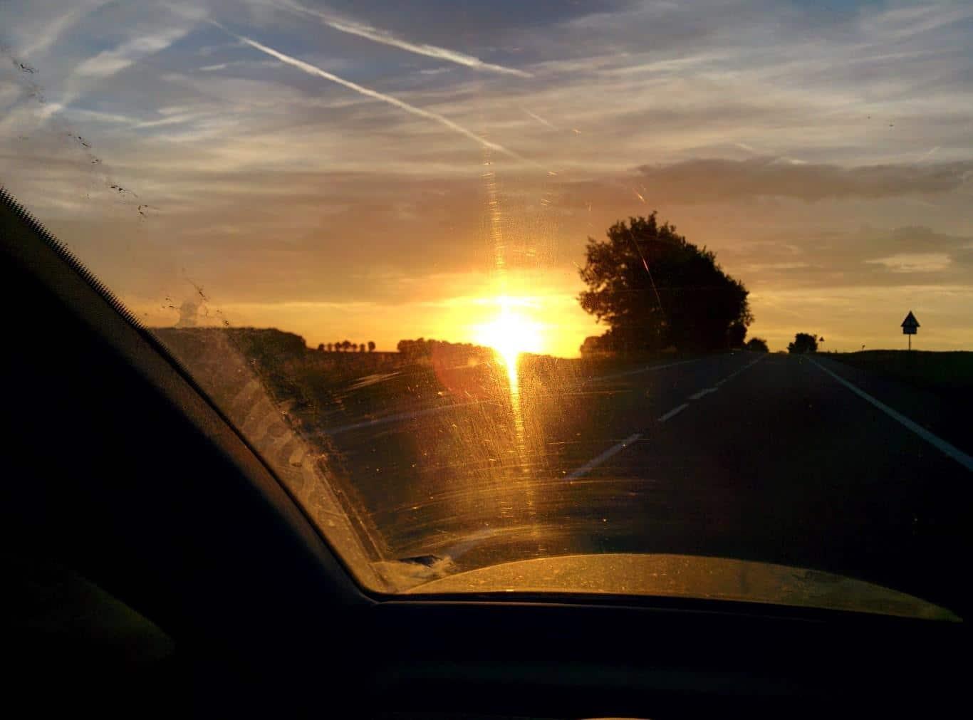 Auf dem Weg nach Münster - mitten in der Nacht...