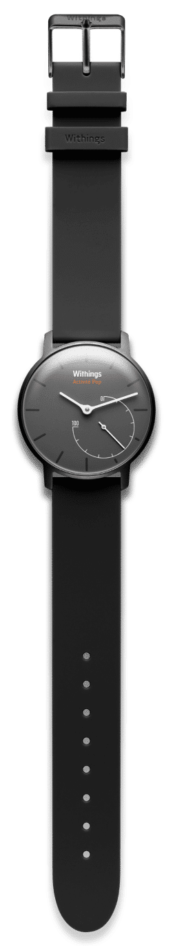 Withings Activite Pop in schwarz (c) Withings