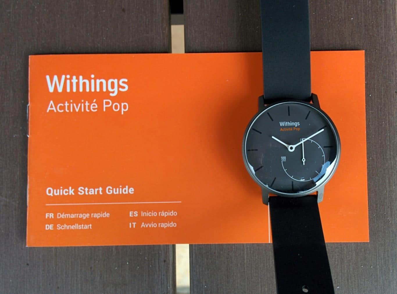 Withings Activite Pop - Lieferumfang