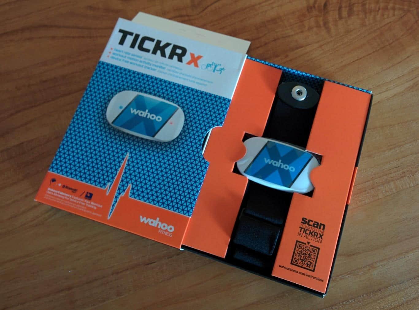 Wahoo Tickr X - Verpackung