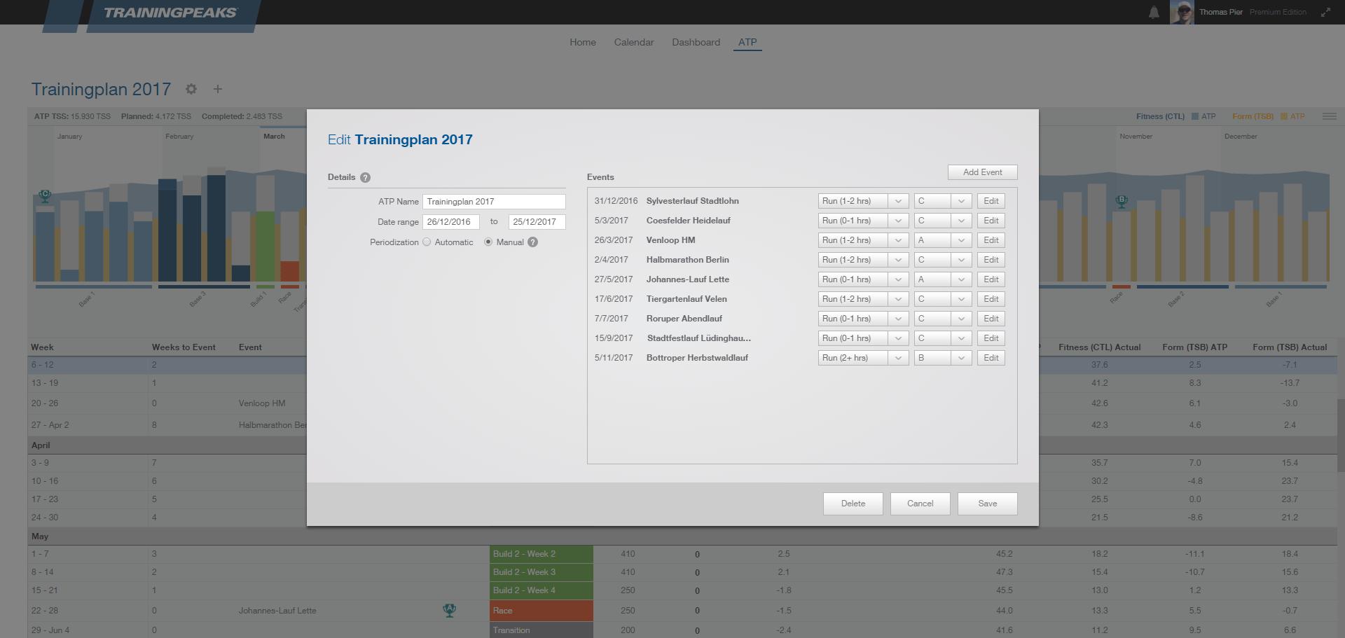 TrainingPeaks ATP Details (Premium-Account)