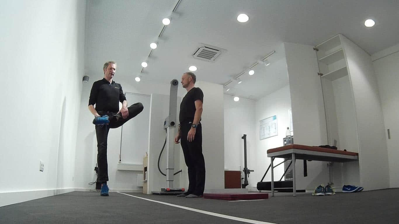 Vor dem Lauf: Aufrichten und Muskulatur aktivieren