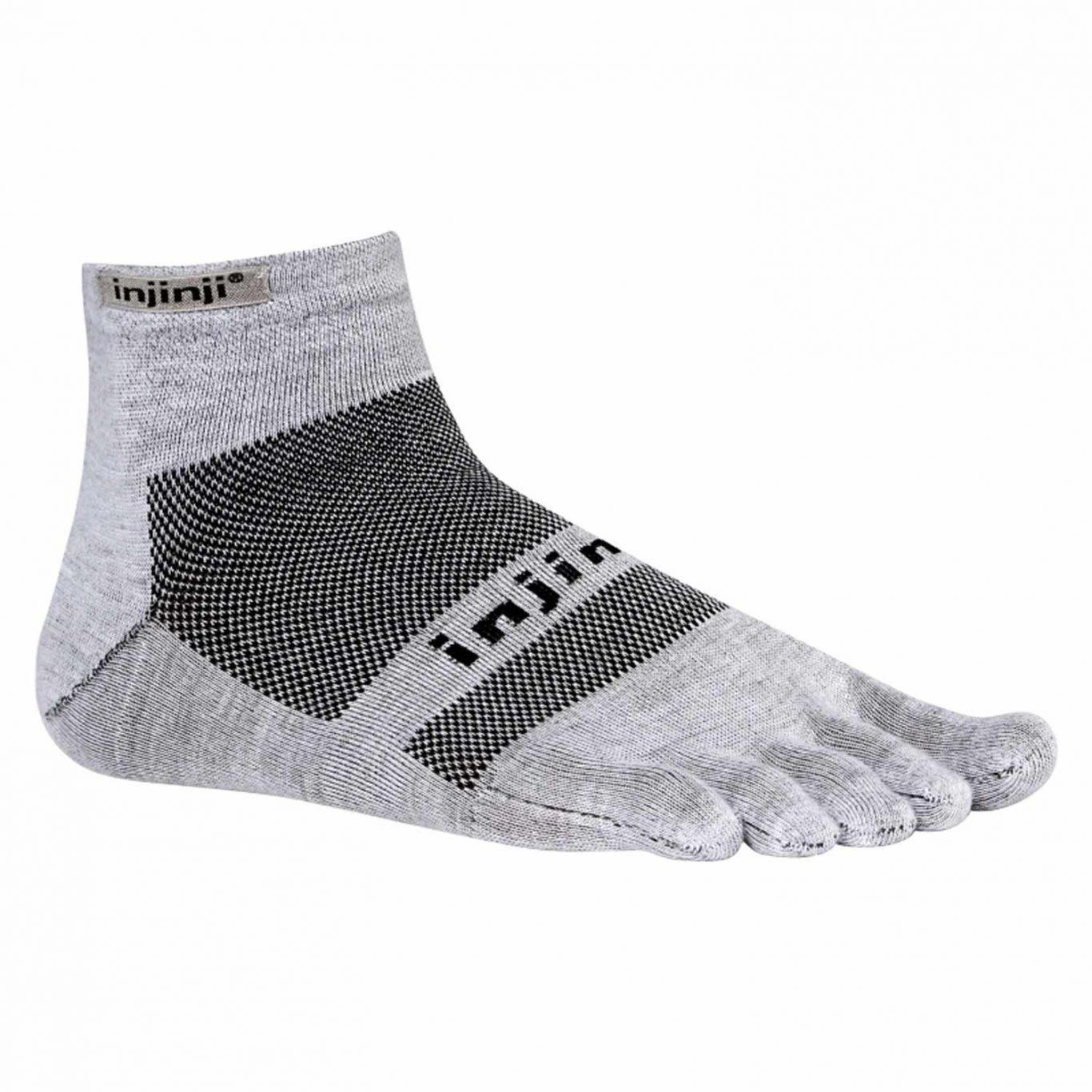 Zehensocken - Injinji Run 2.0 Mini-Crew