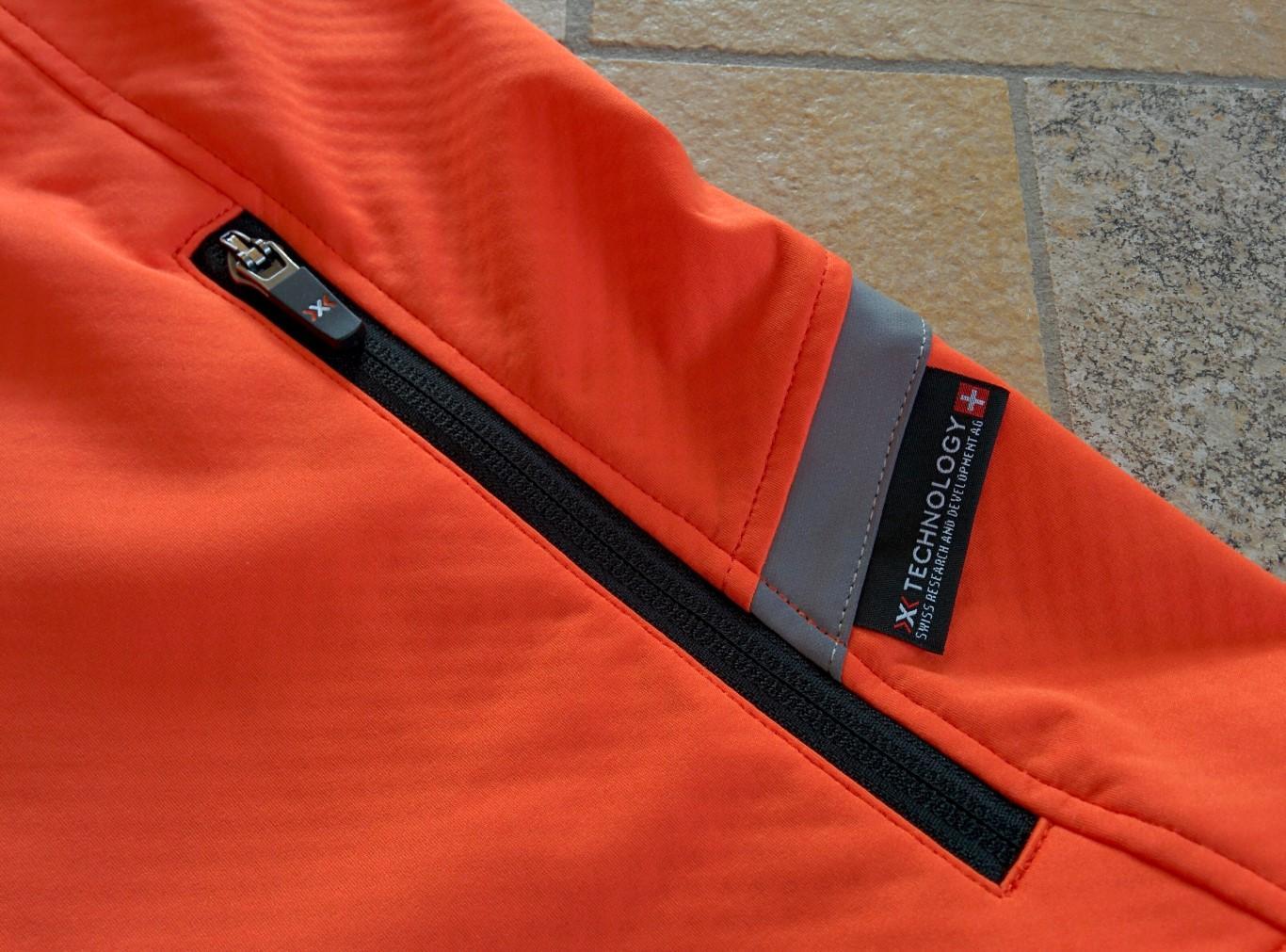 X-Bionic Winter Spherewind Light - Reißverschlusstaschen