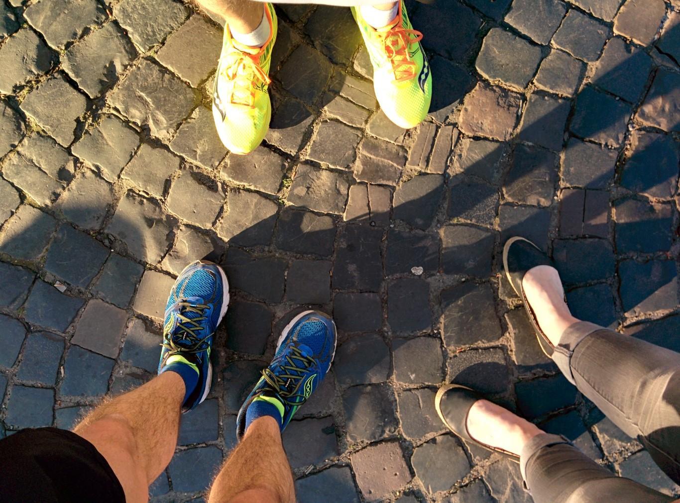 Heisse Füße nach dem Lauf