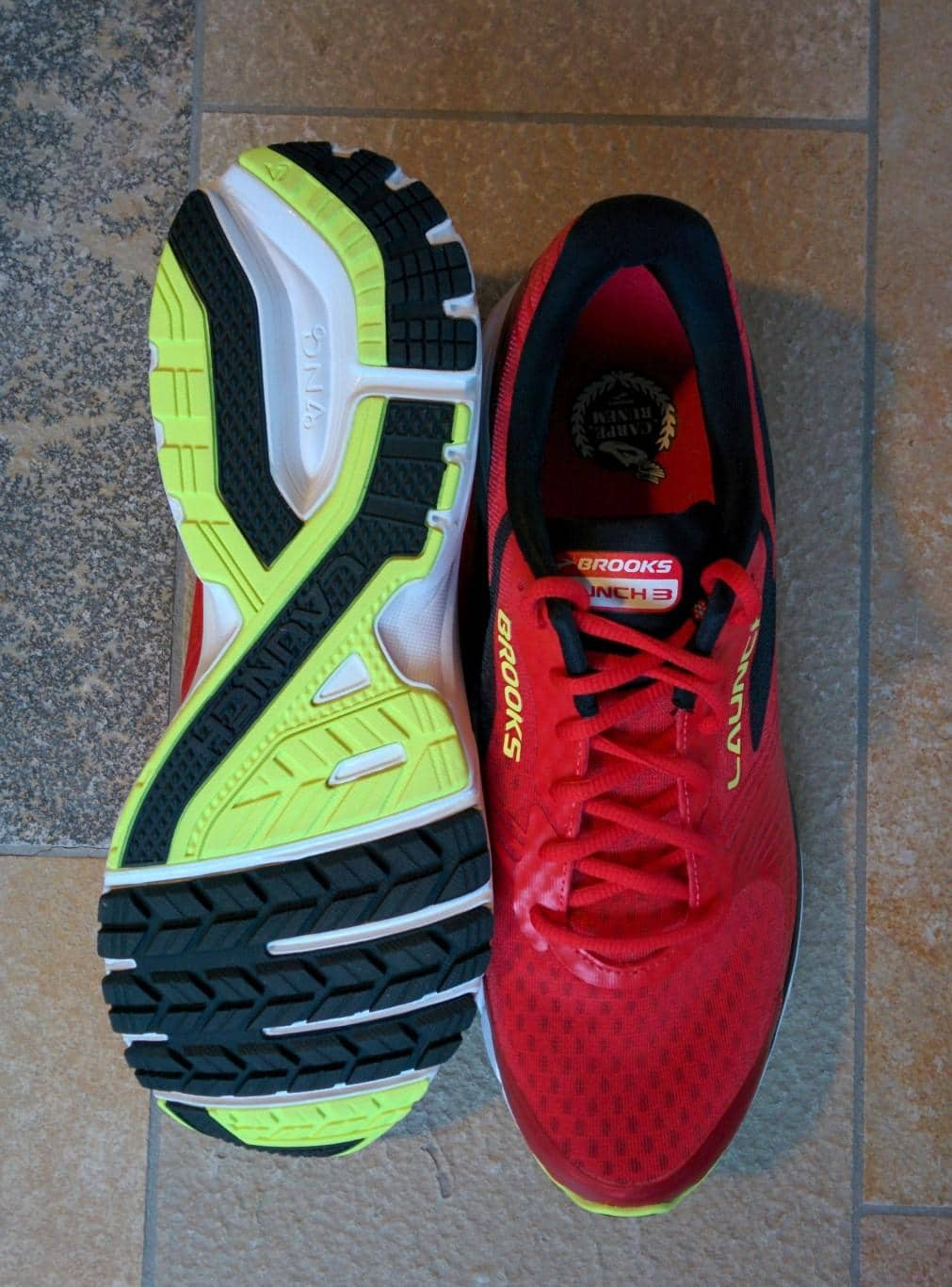 Brooks Launch 3 - Laufsohle