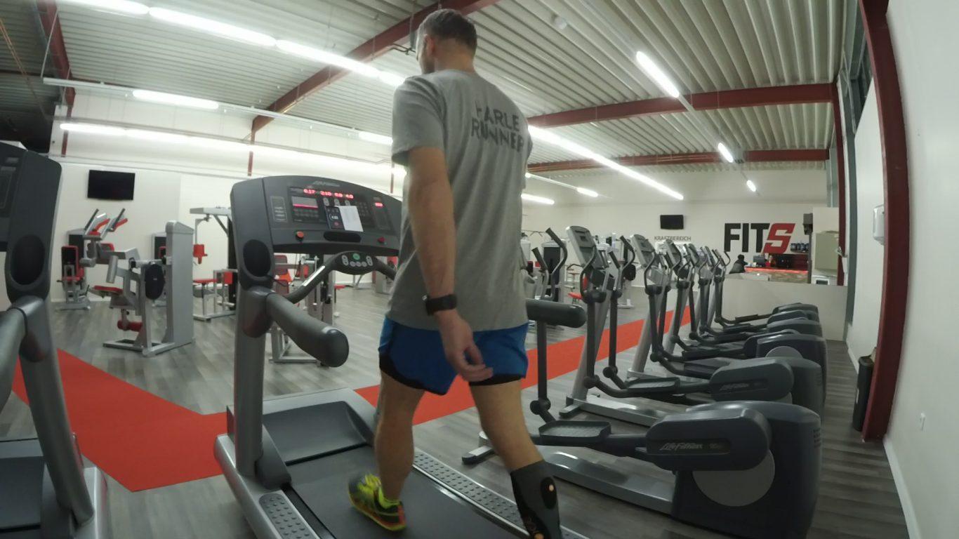 BSXinsight Endurance Test - Stufe 1 bei 12:26 min/km