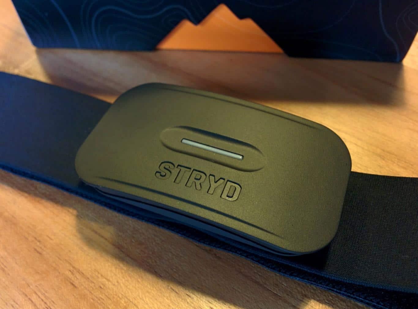 STRYD Sensor mit Brustgurt
