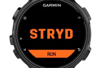 STRYD ConnectIQ APP