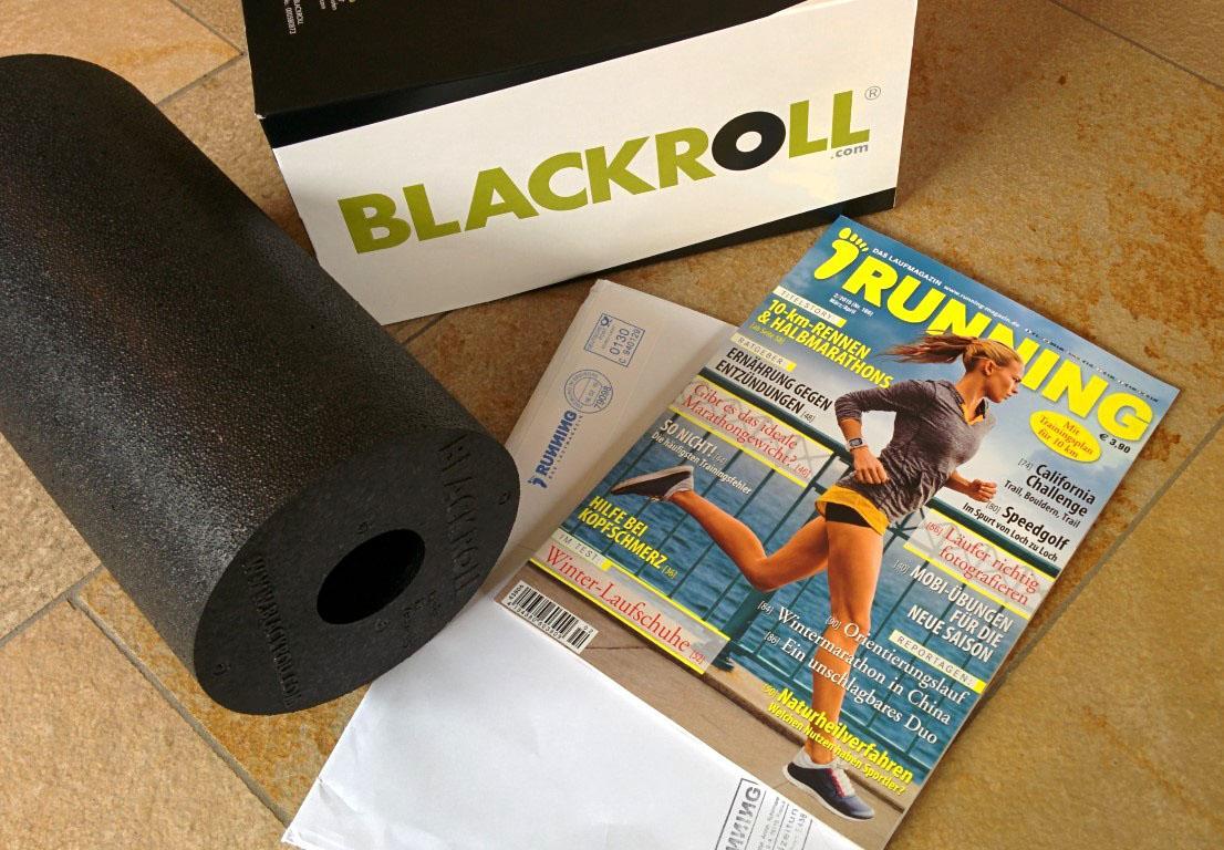 Running-Abo mit Blackroll