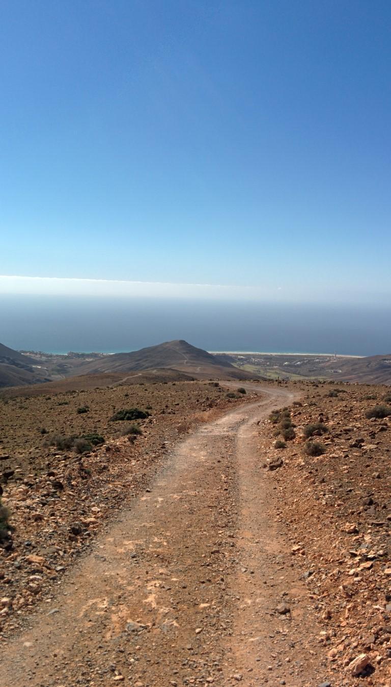 Pico de la Zarza - Rückweg