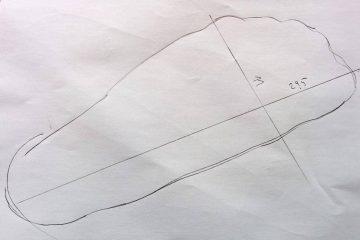 Laufschuhe Schuhgröße ermitteln