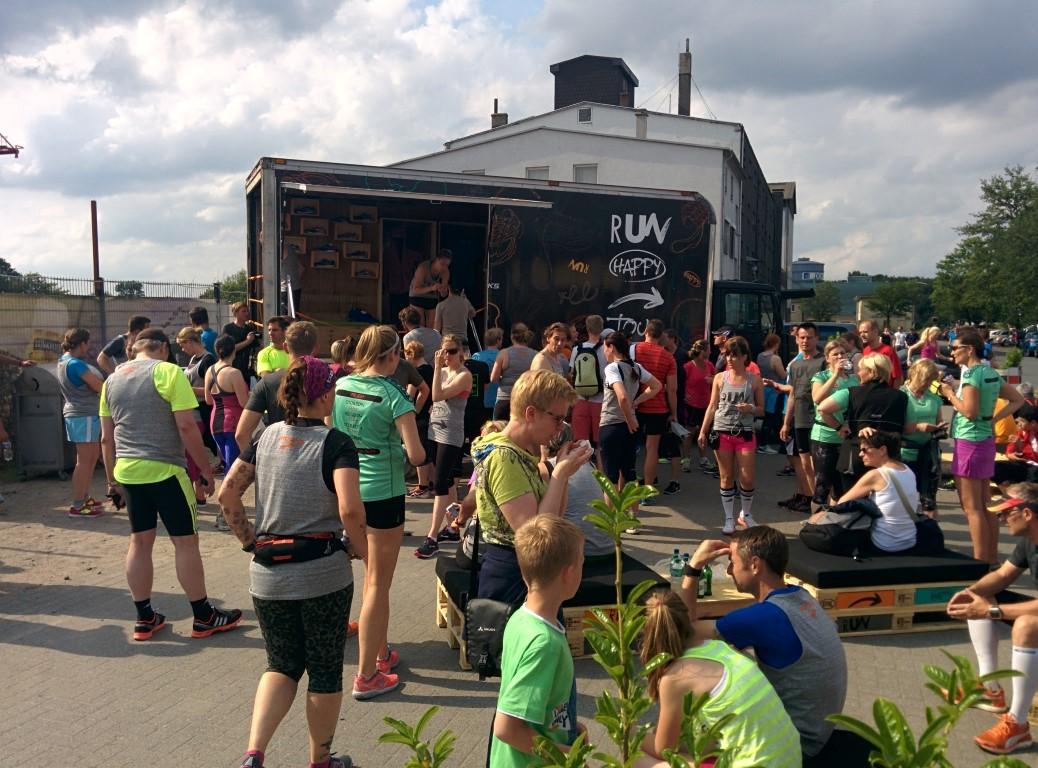 Brooks RunHappy-Tour Dortmund - Treffpunkt