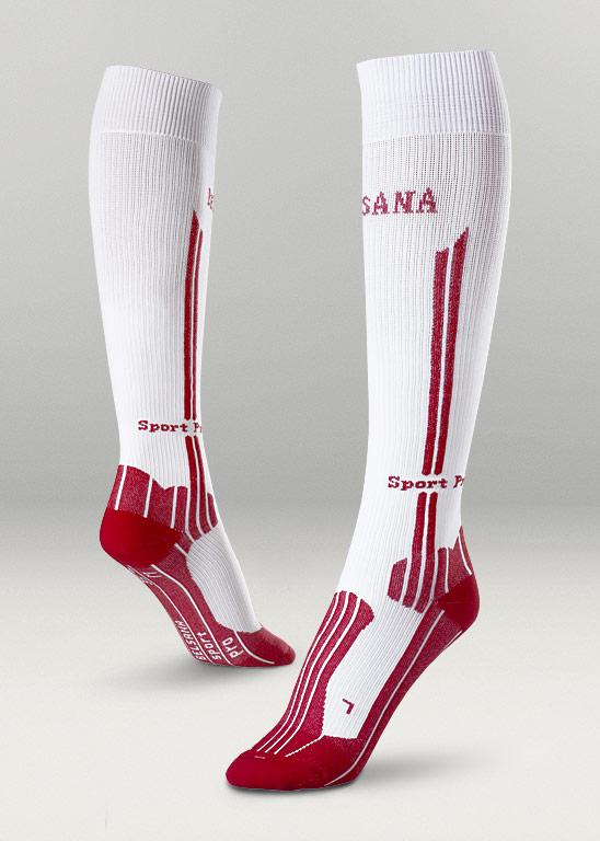 Belsana Sport Compression Socks High in weiss (c) Belsana