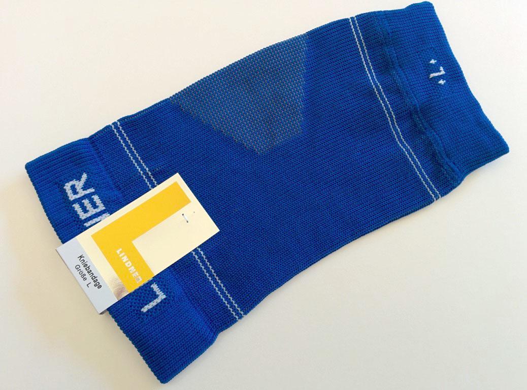 Laufsocken-Test - Lindner Kniebandage