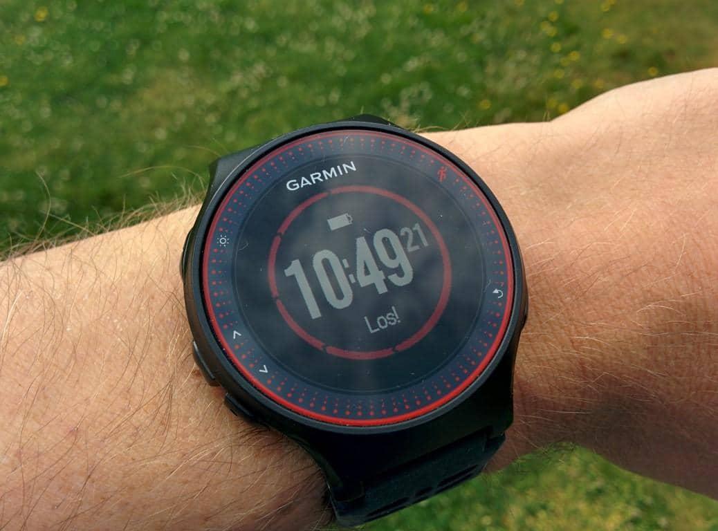 Garmin Forerunner 225: Bewegungsaufforderung Activity Tracker