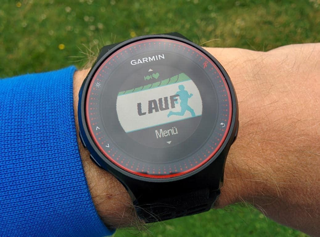 Garmin Forerunner 225: GPS-Fix innerhalb von Sekunden
