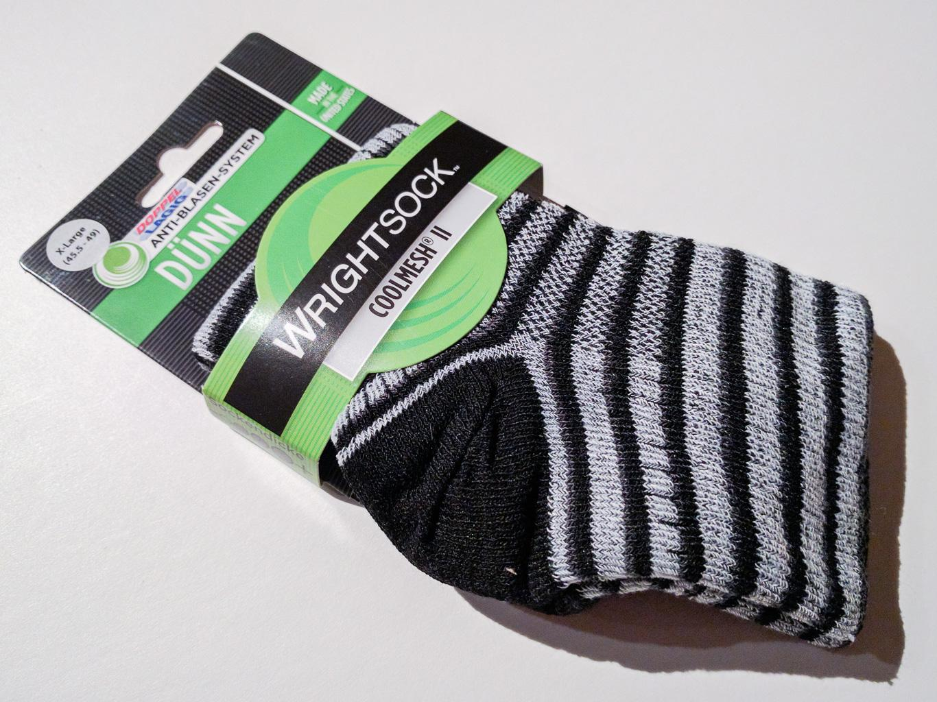 Coolmesh II quarter - Ringelsocken