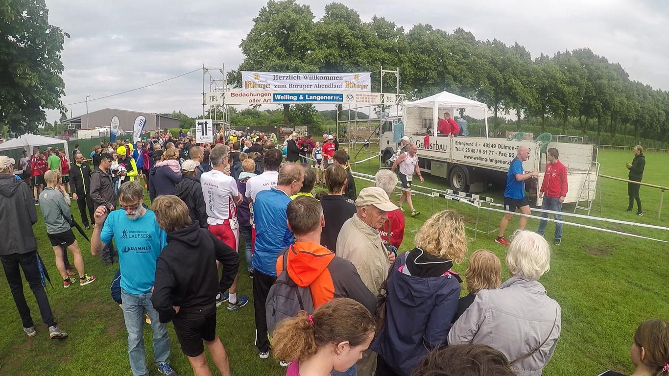 Zieleinlauf der 3km-Läufer