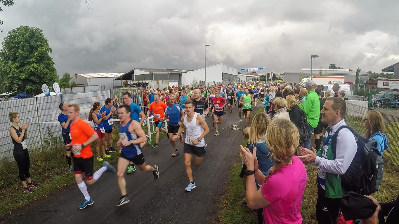 Start des Halbmarathons