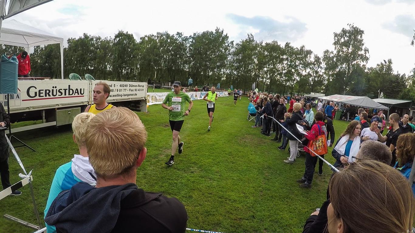 Zieleinlauf 10km-Rennen