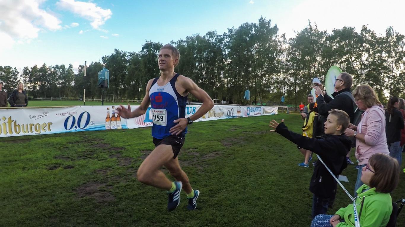 Halbmarathon: Ralf Gottheil im Ziel