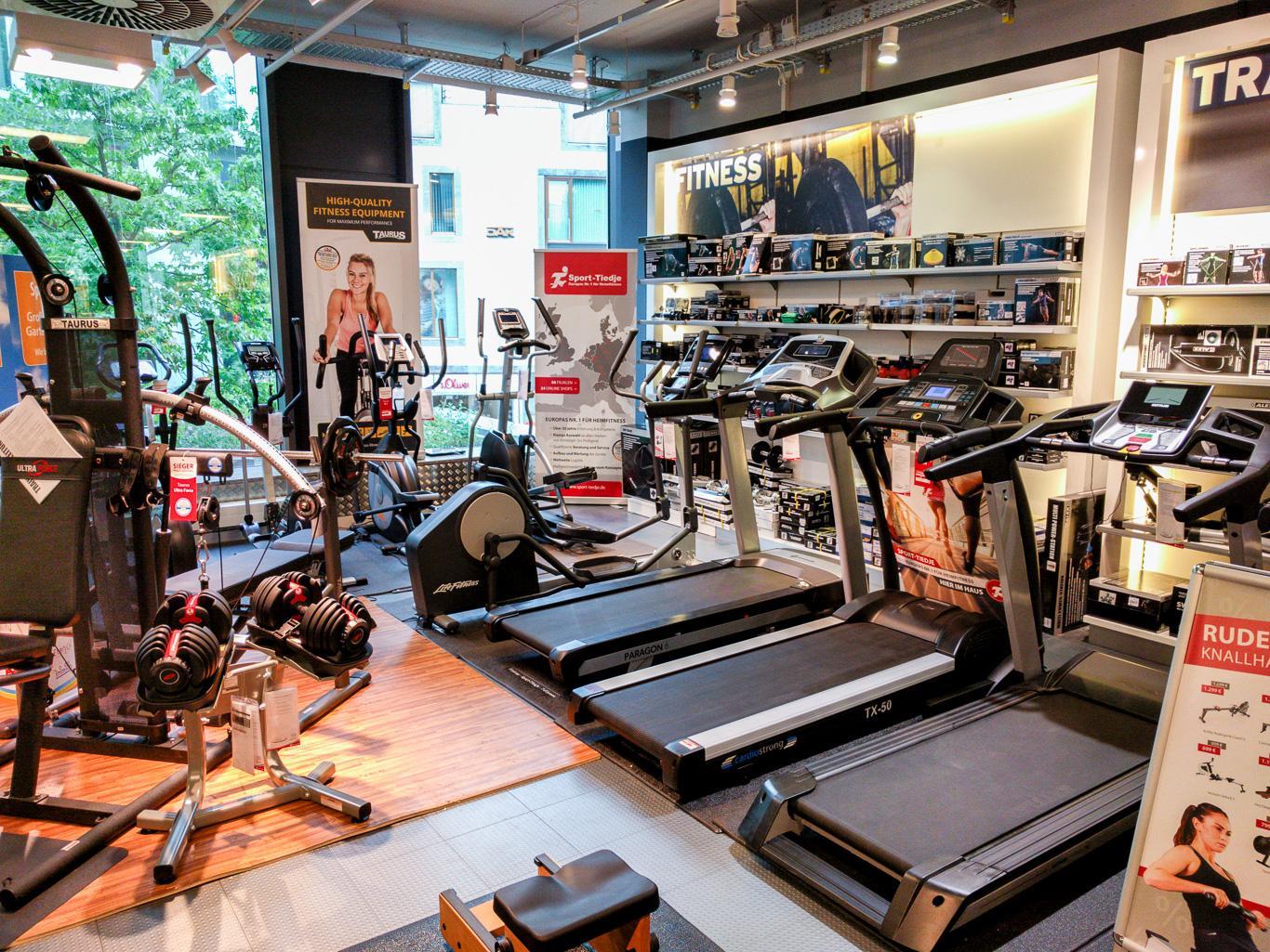 Sport-Tiedje im Karstadt Sport Münster