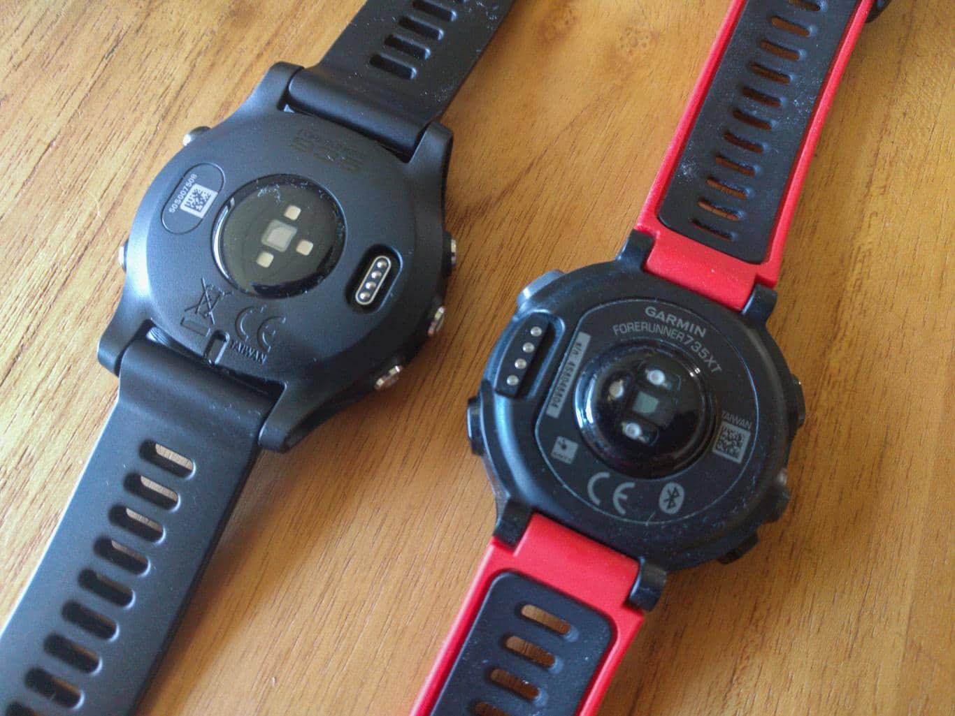 Garmin Forerunner 935 Im Ausfhrlichen Test Harlerunner Ein Black Elevate Sensor Der Und 735xt Vergleich