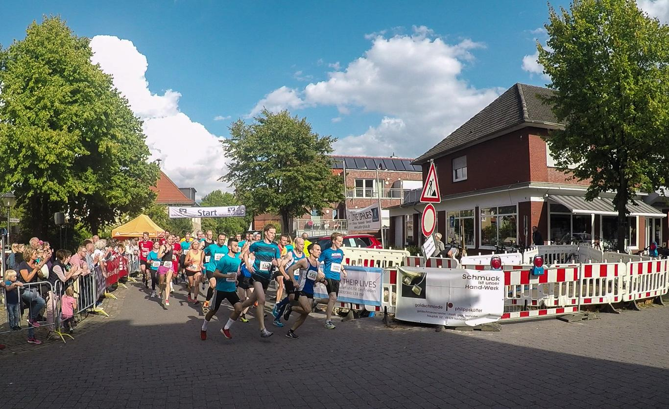 Start des 5-km-Laufs