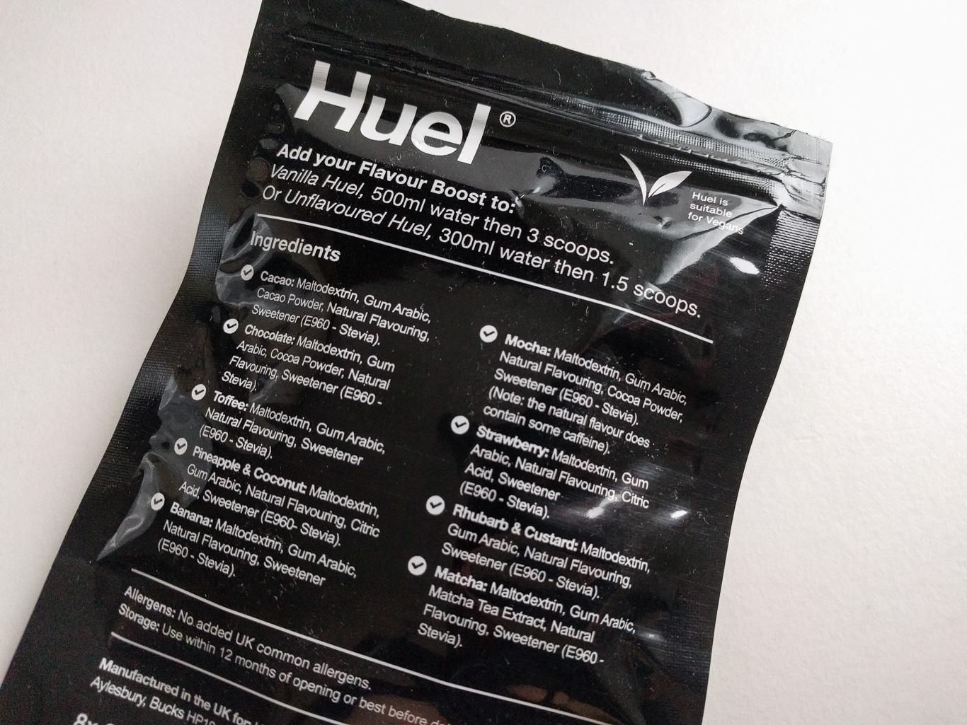 Huel-Flavour