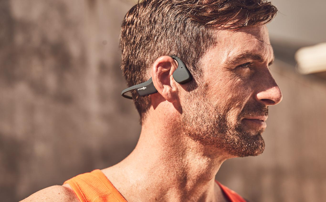 Trageweise Aftershokz Trekz Air