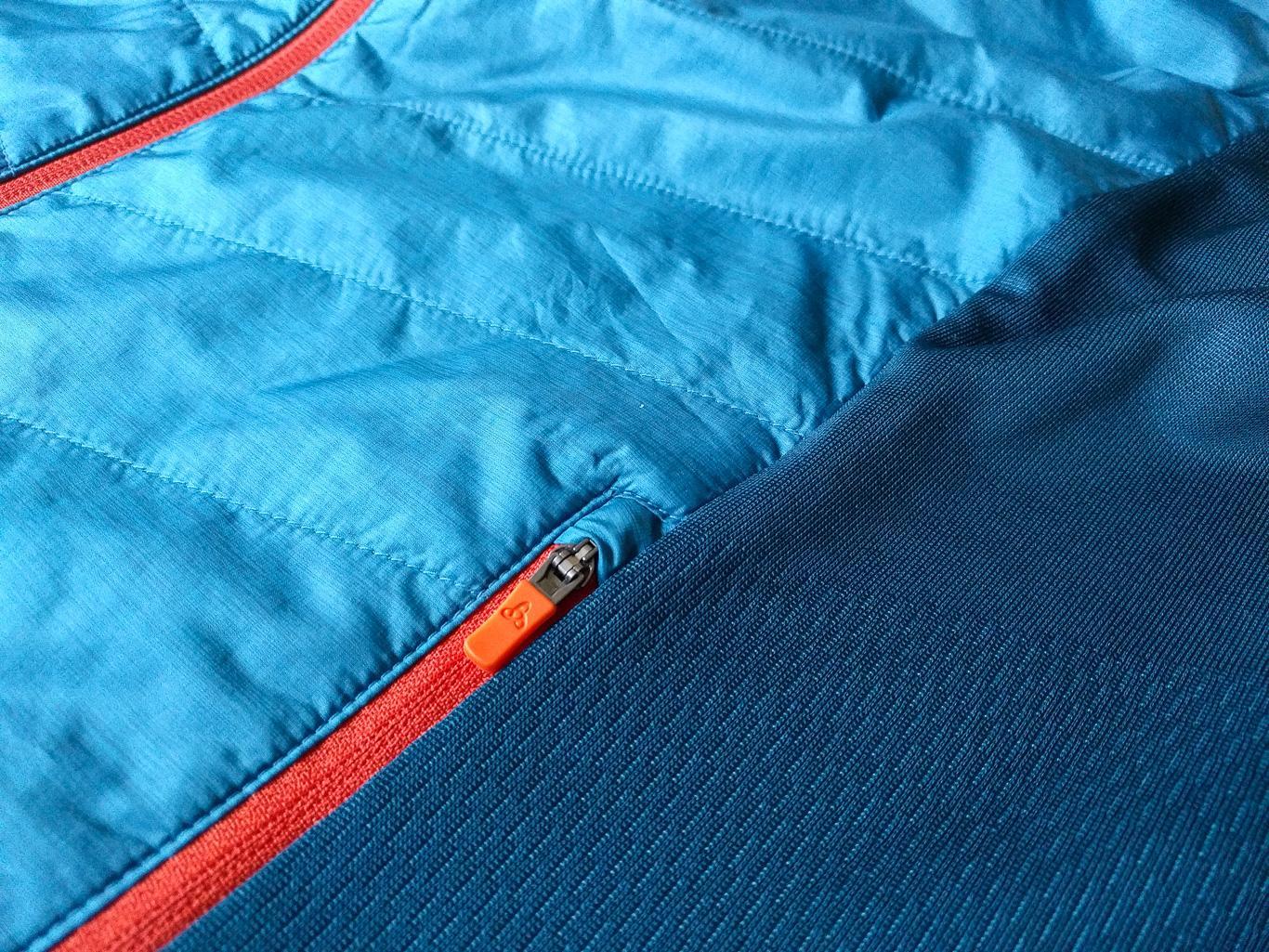 Materialwechsel: vorne isoliert, hinten elastisch