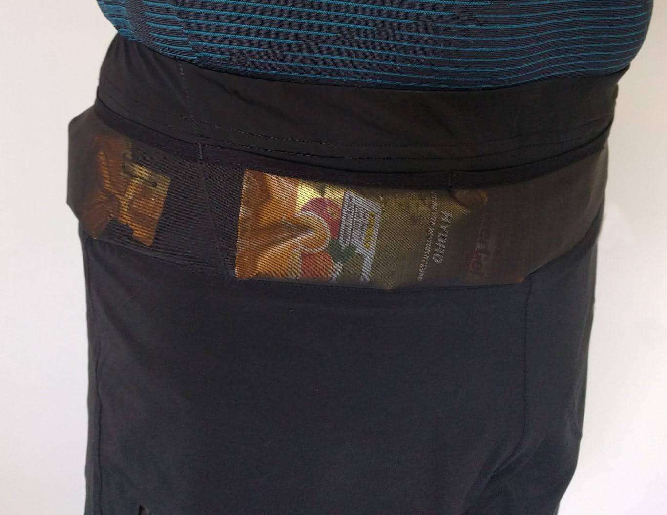 Bauch- und Seitentasche