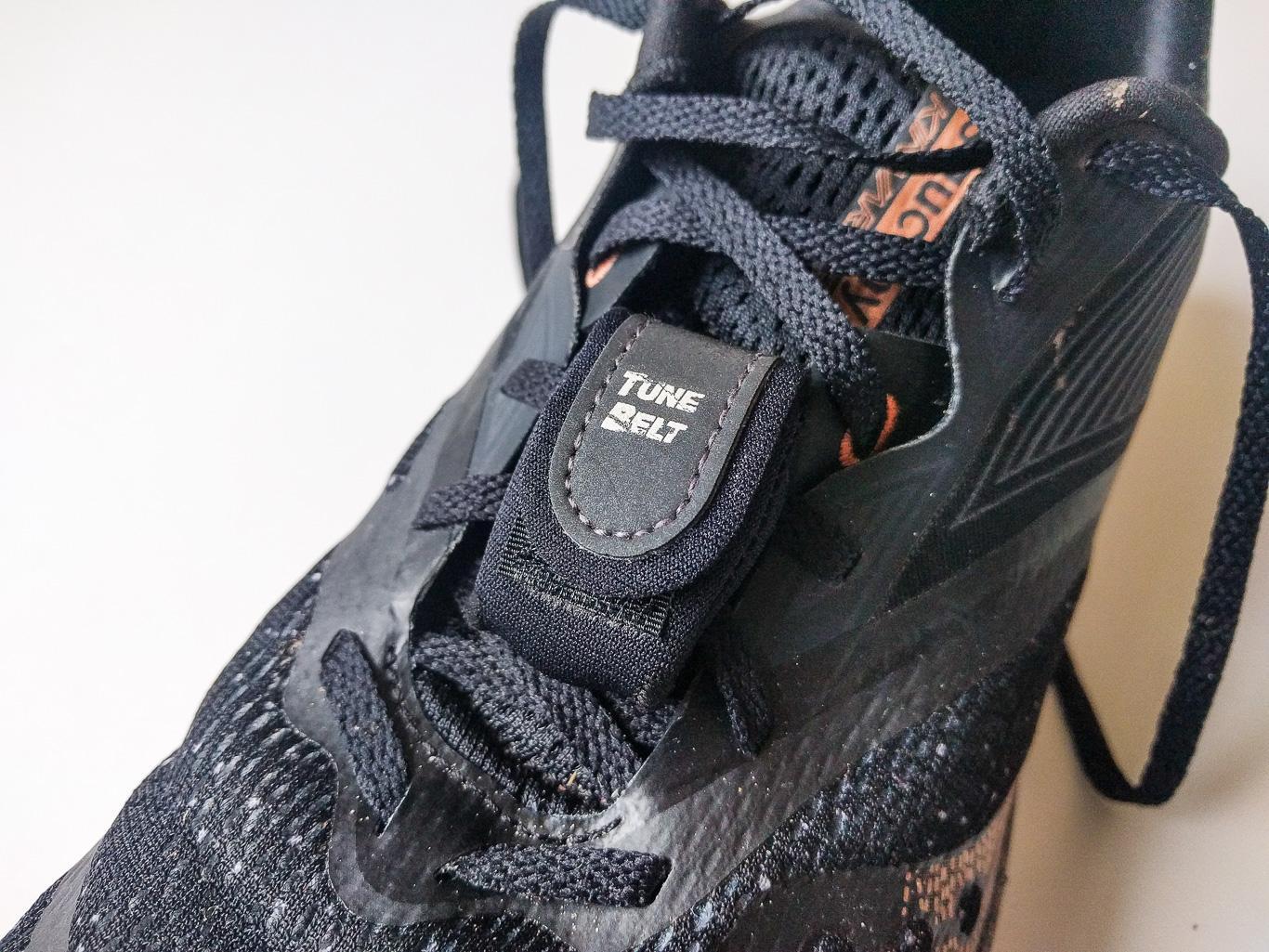 Befestigung am Schuh
