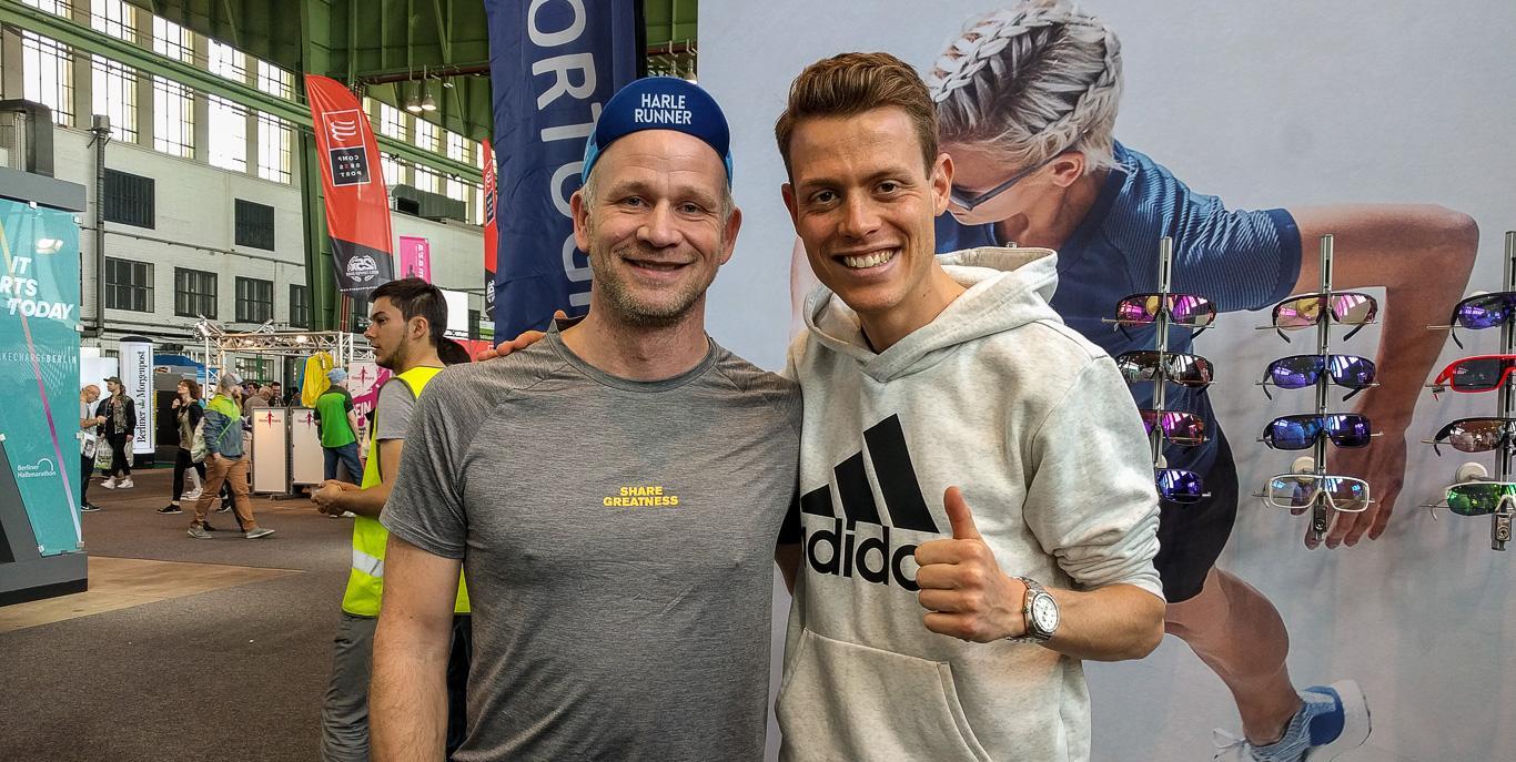 Letzte Race-Tipps vom Profi geholt: Philipp Pflieger!!! :)