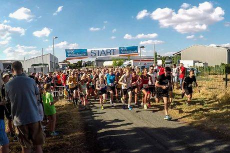 Start des 3-km-Laufs