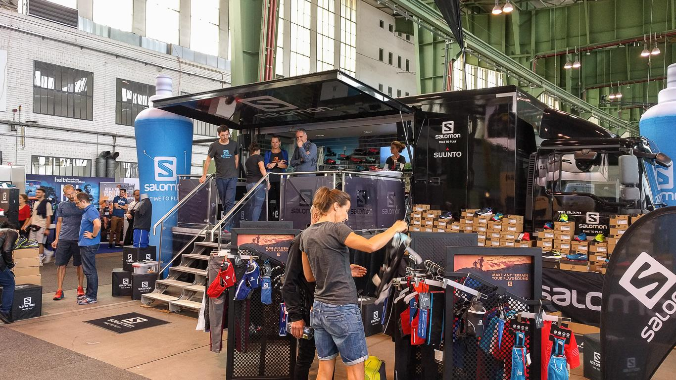 Messe Berlin Vital: Salomon