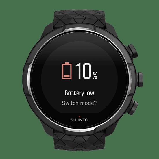 Battery Mode während des Laufes änderbar