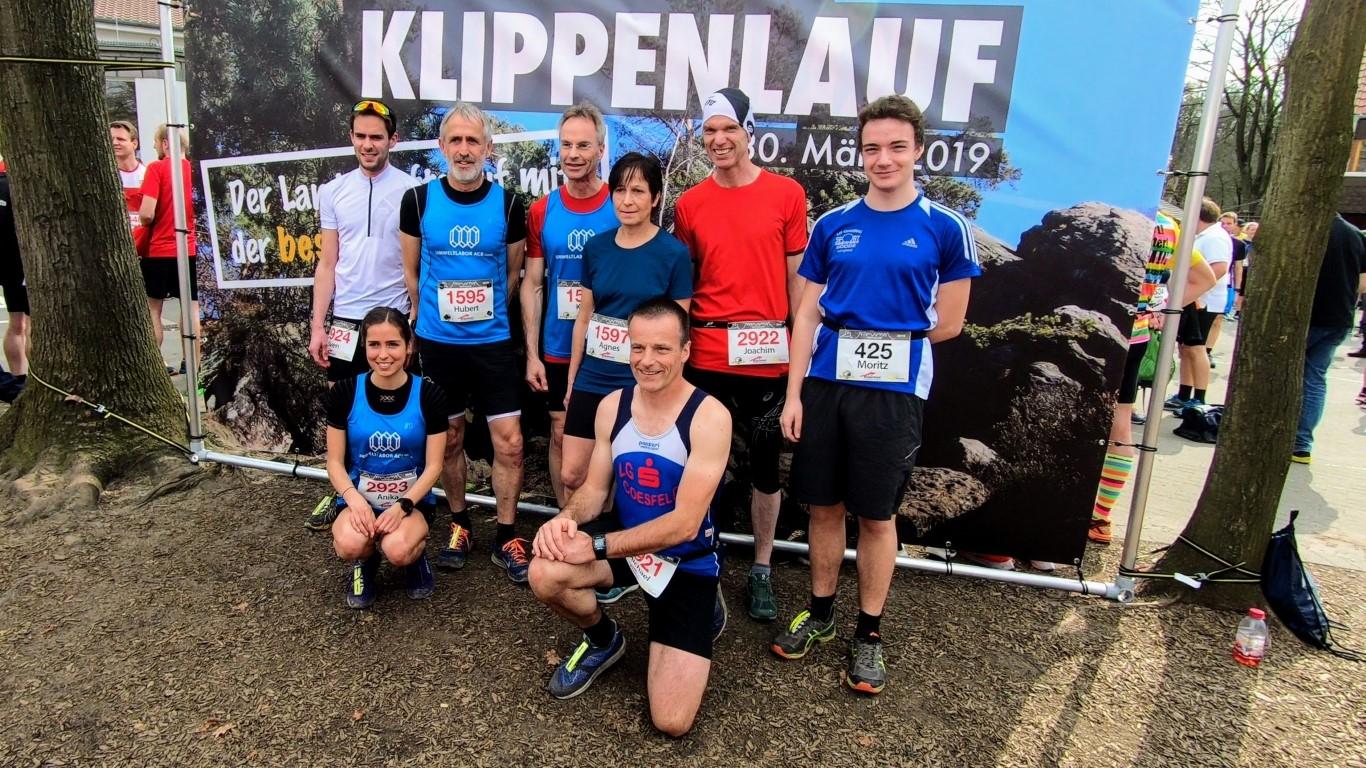 Gruppenfoto der Coesfelder Läufer