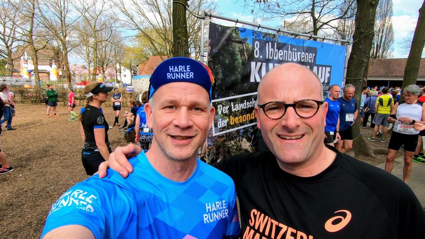 Doppel-Selfie mit Matthias